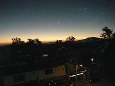 Sunrise in Zapopan, Jalisco, México