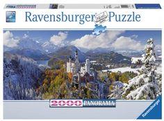 Puzzle Neuschwanstein Ravensburguer 2.000 peças