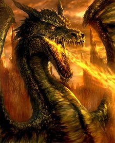 Dragon. by ~chrisscalf on deviantART