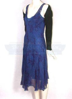 River's blue dress