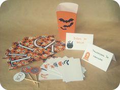 Kit de fiesta imprimible Halloween