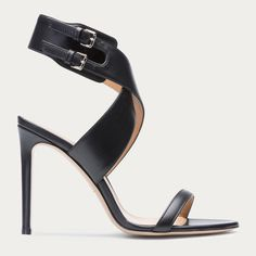 CECYLY -  BLACK CALF Sandals by BALLY Pure elegance