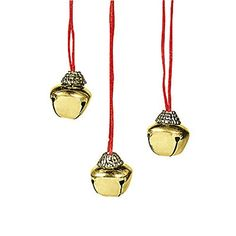 Lot of 12 Christmas Holiday Jingle Bell Necklaces * Be sure to check out this awesome product.