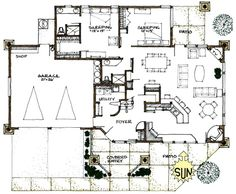 Rustic house plans with wrap around porches sustainable for High efficiency house plans