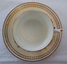 Very Rare Antique Hand Painted Aynsley Coffee Cup Can & Saucer c1875-90 | eBay