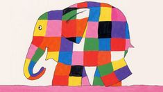 Elmer, every child's favorite patchwork elephant, introduces toddlers to colors.Elmer the elephant is bright-colored patchwork all over.