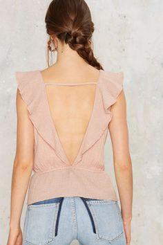 Illume Ruffle Top | Shop Clothes at Nasty Gal!