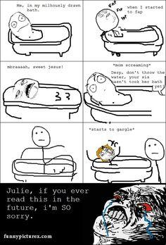 Epic Bathing FAIL