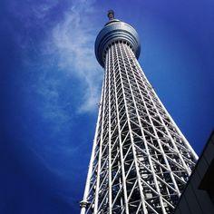 東京スカイツリー (Tokyo Sky Tree) - Tallest building in Japan.