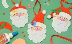Figuras navideñas en fomi para imprimir