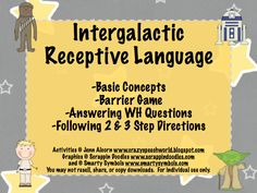 Crazy Speech World: Intergalactic Receptive Language