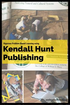 Kendall Hunt Publishing creates rigorous problem based learning materials for home or school.