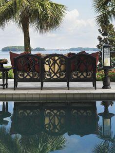 Tommy Bahama Kingstown Sedona Sofa | Traditional Outdoor Patio Furniture