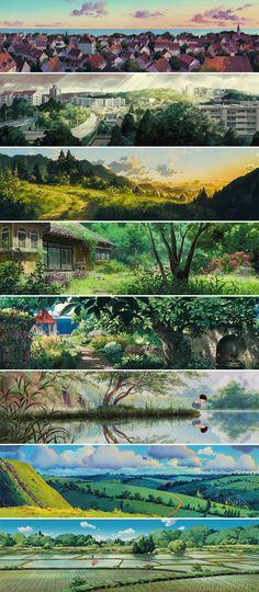 Studio Ghibli | Scenery
