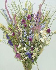 Dried Flower Bouquet - Summer Ice Bunch...Beautiful!