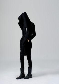 fashion / goth ninja