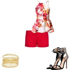 """Redness"" by ketiablanc on Polyvore"