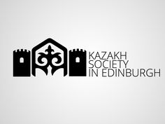"""Kazakh society in Edinburgh"" logo"