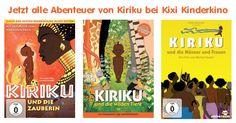 Der 3. Film mit dem cleveren Jungen Kiriku. Afrikanische Fabeln und Sagen toll umgesetzt!