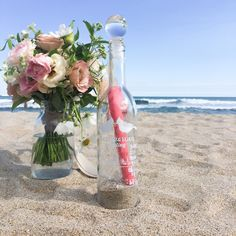 Message in a bottle wedding certificate メッセージインアボトル結婚証明書