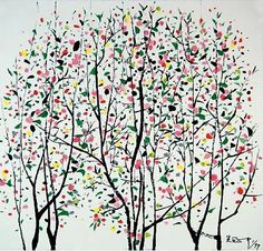 The Tree Story by Wu Guanzhong