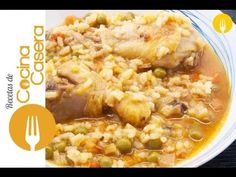Arroz caldoso con pollo - Recetas de Cocina Casera - Recetas fáciles y sencillas