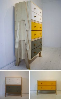 Stackable Dresser Drawers: Great for Small Spaces Maybe build them in different size for my tiny house.