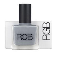 White Apothecary | RGB 5-Free Nail Polish Colour: Steel $19.00 CAD www.whiteapothecary.com #whiteapothecary #mineral #glutenfree #vegan # #natural #naturalmakeup #makeup #RGB #nailpolish #5free #nails