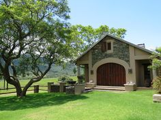 Dawsons Game & Trout Lodge is surrounded by beautiful nature near the town of Badplaas. A total of 16 guests can be accommodated at the lodge in 8 spacious and comfortable rooms. The hotel is owner run who takes pride in making sure his guest are happy. Game Lodge, Trout, Lodges, South Africa, Shed, Outdoor Structures, Cabin, Games, House Styles