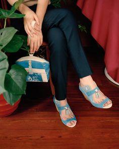 Bag and shoes by Becky Bungarz. Looks like she's using @lumi @inkodye
