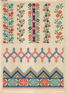 ru / Foto # 46 - Do tronco - Cross Stitch Letter Patterns, Cross Stitch Boarders, 123 Cross Stitch, Cross Stitch Letters, Cross Stitch Samplers, Cross Stitch Charts, Cross Stitch Designs, Cross Stitch Embroidery, Stitch Patterns