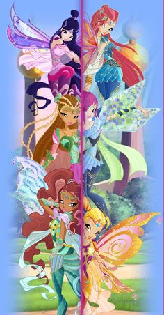 winx club bloomix | Tumblr