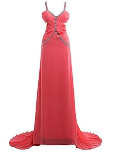JAEDEN Women's V-neck Sexy Open Back Long Prom Dress Formal Evening Party Dress Coral US2 JAEDEN http://www.amazon.com/dp/B00UN1AE4S/ref=cm_sw_r_pi_dp_Tfdxvb1WH7MZE