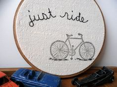 Great #yarn gift idea. It's all about bikes here in #Yorkshire at the moment in prep for the Tour de France!
