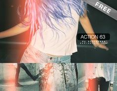 Action 60 (Free) by =Discopada on deviantART  #downloadable #graphicdesign #freebie #photoshop #filter #photography