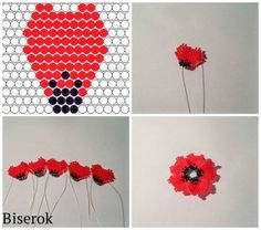 Do it yourself also known as DIY is the method of building modifying or repairing something without the aid of experts or professionals Beaded Flowers Patterns, Beaded Jewelry Patterns, Beading Patterns, Seed Bead Flowers, French Beaded Flowers, Seed Bead Tutorials, Beading Tutorials, Bead Jewellery, Seed Bead Jewelry