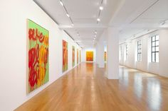 Cy Twombly - June 28 - August 11, 2012 - Images - Gagosian Gallery