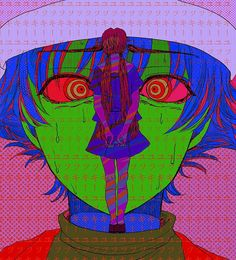 Image about art in Yuno 🔪 /Mirai Nikki 📱 by Prisa Aesthetic Art, Aesthetic Anime, Arte Indie, Arte Cyberpunk, Arte Obscura, Arte Sketchbook, Wow Art, Cybergoth, Cute Art