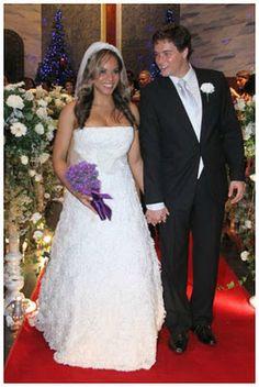Retrô - Casamento de famosos 2011. Aparecida Petrowky e Felipe Dylon
