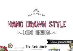 Pay As You Go Custom Logo Hand Drawn Style Logo Design