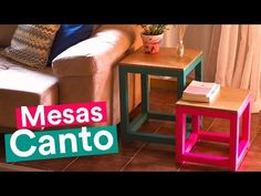 DIY - MESAS DE CANTO POP - YouTube
