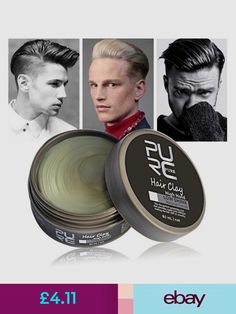 Hair Styling Products #ebay #Health & Beauty Hair Pomade, Styling Products, Hold On, Wax, Hair Styles, Health, Hair Plait Styles, Health Care, Naruto Sad