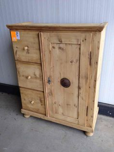 Exceptional Antiek Grenen Spekkast   Antique Stripped Pine Foodcupboard   Cupboards U0026  Foodcupboards   04 Restored Antique