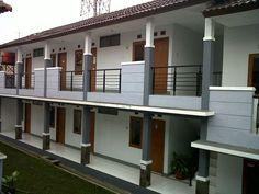 Trendy ideas for camping style cases Dorm Design, Hotel Room Design, Village House Design, House Front Design, Makassar, Apartment Plans, Apartment Design, 3 Storey House Design, Guest House Plans