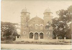 1915c Durban Synagogue, Durban Durban South Africa, Inner World, Pretoria, African History, Travel Bugs, Historical Society, Historical Photos, East Coast, Taj Mahal