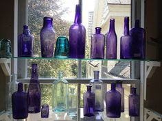 The Purple Bottle Story - NY Interiors