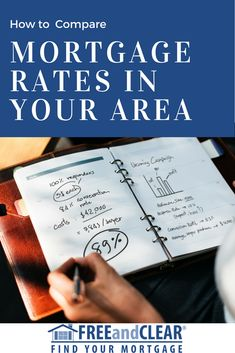 mortgage rate comparison tool
