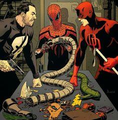 Justiceiro, Demolidor & Homem Aranha