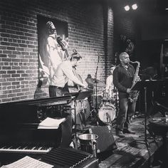 """The Josh Thurston-Milgrom Quartet live...just finishing doing a haunting modal rendition of David Bowie tune """"Life on Mars"""" ...next up is Prince's """"Under the Cherry Moon"""". #jazz done right but using source material from elsewhere to work. #DTSJ"""