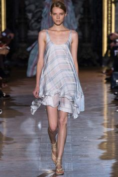 Plaid: Stella McCartney spring 2015